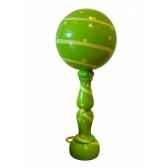 bilboquet decore ruban vert jorelle 91 rv