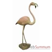 fontaine flamant rose brz1085c
