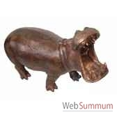 fontaine hippopothame 1 brz1135