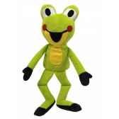 marionnette grenouille 21cm mubrno 20909a
