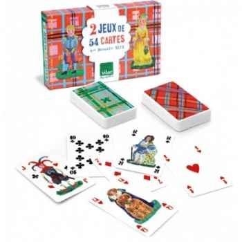 Coffret 2 jeux de cartes nathalie lété vilac -8633