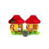 les schtroumpfs mega bloks jeu de construction maison du grand schtroumpf mega brands mebl10752