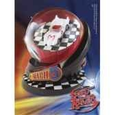 speed racer globe mach 5 13 cm noble collection nob03009
