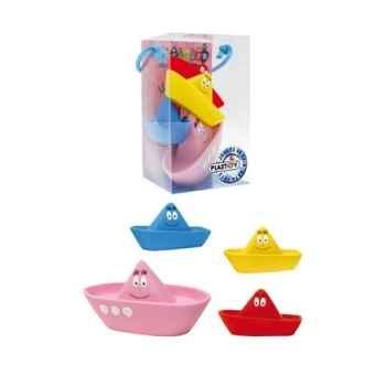 Barbapapa pack 4 jouets de bain les bateaux Plastoy -P80503