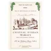 torchon imprime chateau d issan margaux 1010