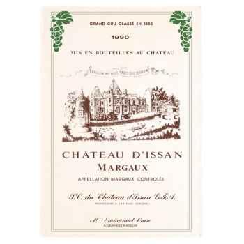 Torchon imprimé Château d\'Issan - Margaux -1010