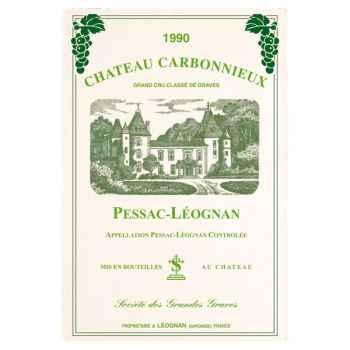 Torchon imprimé Château Carbonnieux - Pessac-Léognan- 1006