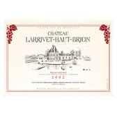 torchon imprime chateau larrivet haut brion pessac leognan 1227