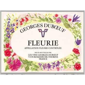 Torchon imprimé Georges Duboeuf -1194