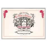 torchon imprime pere la grolle beaujolais 1158