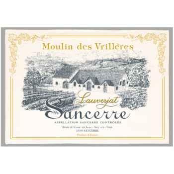 Torchon imprimé Moulin des Vrillères - Sancerre -1015
