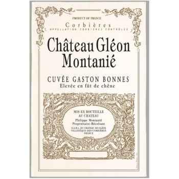 Torchon imprimé Château Gléon Montaniè - Corbières -1004