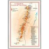 torchon imprime route des vins d alsace 1184