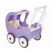chariot de marche hugo lilas pinolino 262632