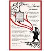 torchon imprime la choucroute alsacienne 1243