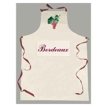 Tablier sommelier poche étiquette Bordeaux -2066