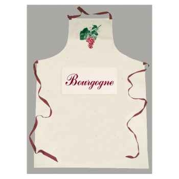 Tablier sommelier poche étiquette Bourgogne -2067