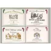 sets de table tissu vin bordeaux 5148