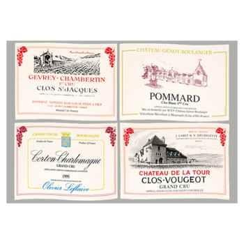 Sets de table tissu vin Bourgogne -5149