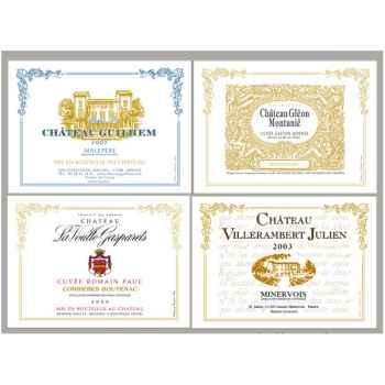 Sets de table tissu vin Languedoc -5153