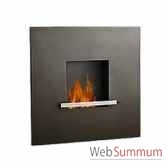 cheminee fire flame anthracite artepuro 21101 00