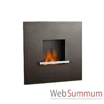 Cheminée fire & flame anthracite Artepuro -21.101-00