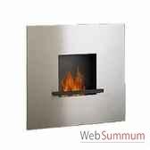 cheminee fire flame en acier inoxydable artepuro 21102 00