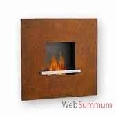 cheminee fire flame en acier corten artepuro 21103 00
