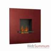 cheminee fire flame rouge barolo artepuro 2110700
