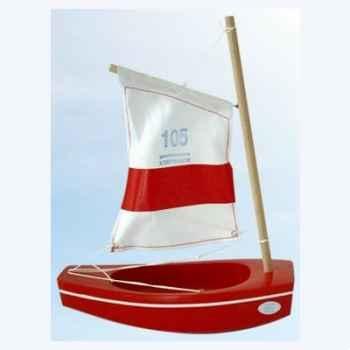 Thonier en bois rouge petit mousse 22 cm Tirot