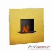 cheminee fire flame 24 karat pur feuille d or artepuro 21104 00