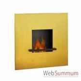 cheminee fire flame 24 karat pur feuille d or artepuro 21104 00