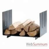 plateau de rangement de bois wood in artepuro 23103 00