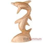 dauphins joueurs 50 cm bali ds50b