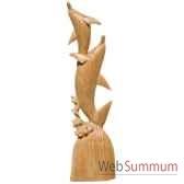 dauphins joueurs 100 cm bali ds100b