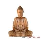 bouddha assis 30 cm bali b30