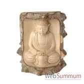 bouddha dans arbre 20 cm bali biba20