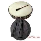 tambour de chaman avec sac bali troscha