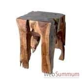 petite table en bois bali tischkl