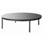 table basse ronde grise emform se 0532