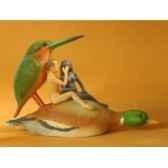 jardin des delices par j bosch amoureux sur un canard jb26 3dmouseion