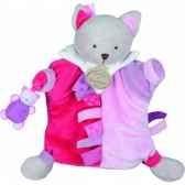 marionnette etiquette chat doudou et compagnie dc2349