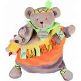 marionnette etiquette ours doudou et compagnie dc2351