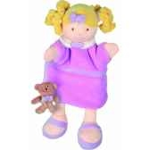 marionnette poupee rose doudou et compagnie dc2353