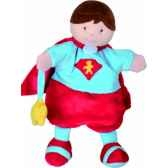 marionnettes super heros 2 modeles doudou et compagnie dc2354