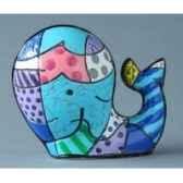 mini figurine whale britto romero b331844
