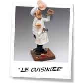 figurine forchino le cuisinier fo84000
