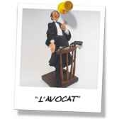 figurine forchino avocat fo84001