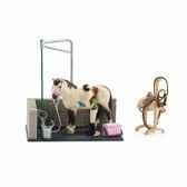 box de lavage pour chevaux schleich 42104