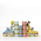cinderella belle bookends figurines disney collection 4033970